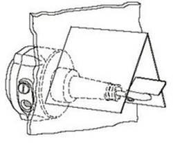 Индикатор уровня на силос цемента